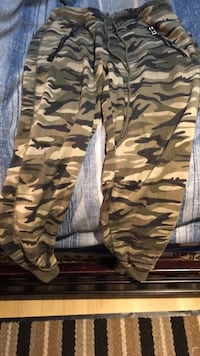 Brown and black camouflage pants Surrey, V3S 2A9