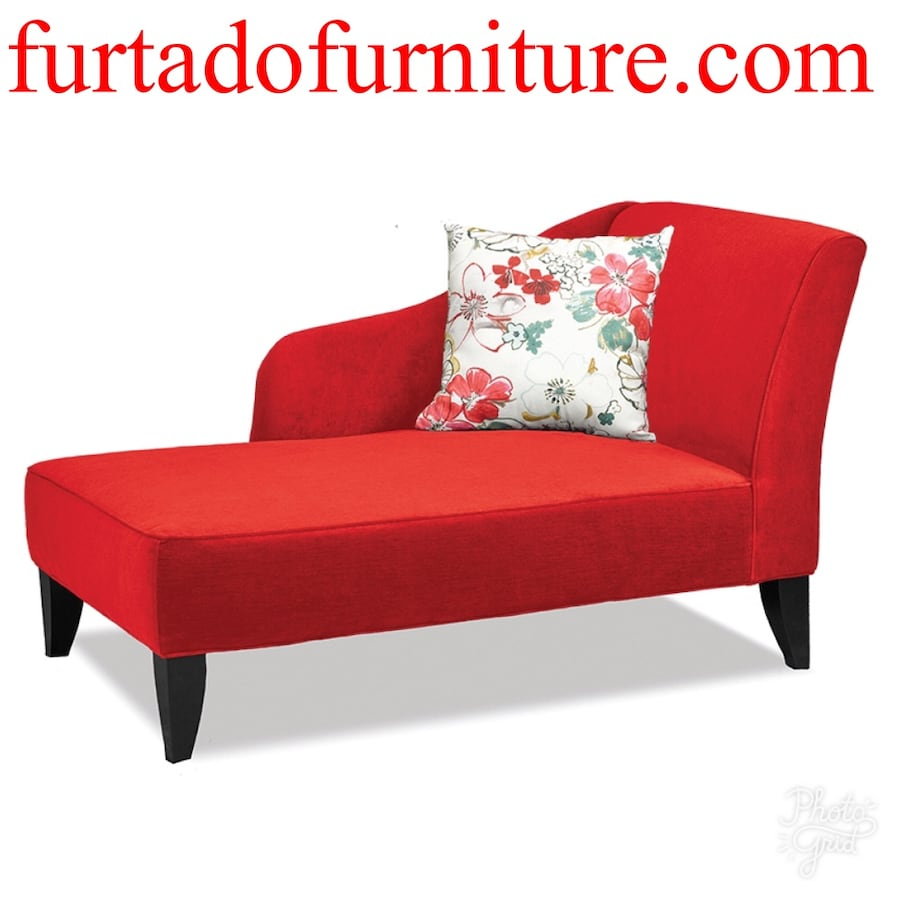 Chaise/red chaise lounge