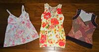 FIRM PRICE * Lot of 3 Juniors SIZE MED Summer Tops Oklahoma City, 73012
