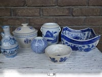 Blue and White Porcelain MONTREAL