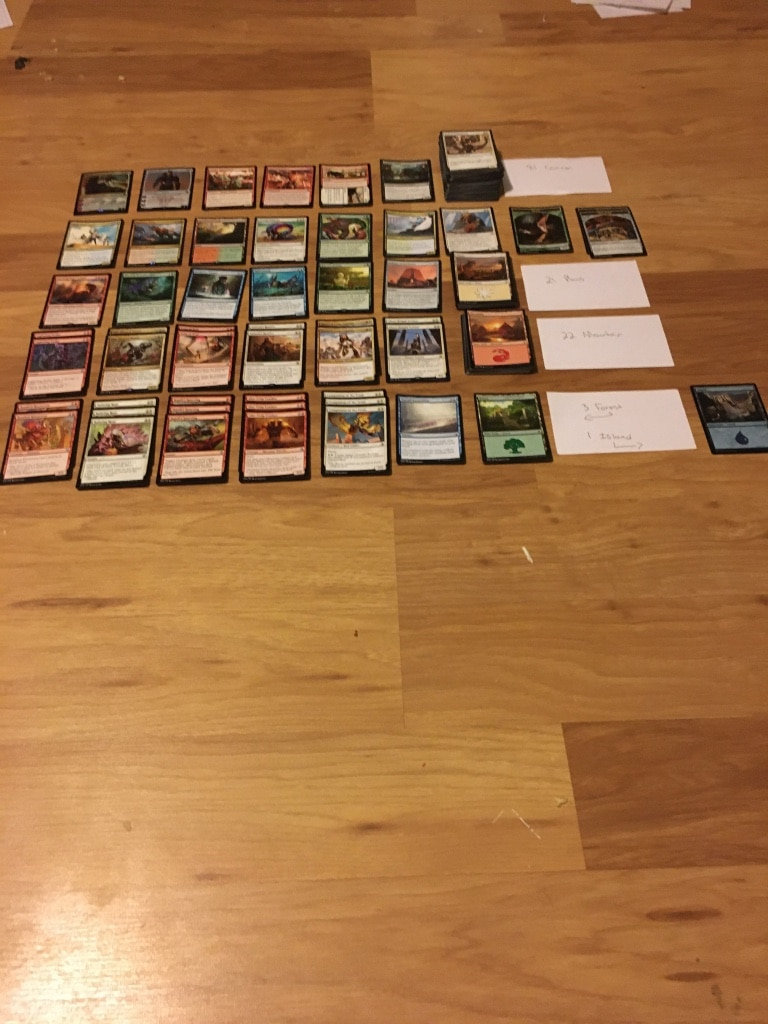 Photo Magic the gathering cards
