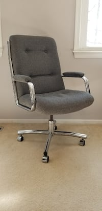 Comfortable Upholstered Desk Chair BURKE