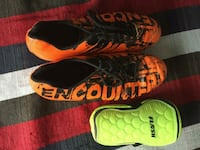 Nivia encounter football shoes..sihn guards free Ghaziabad, 201014