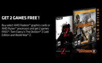 Division 2 Gold Edition + World War Z (PC Game Code) Vaughan