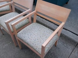 Wooden Waiting Room Chairs