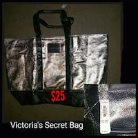 black and gray leather tote bag Inverness, 34450