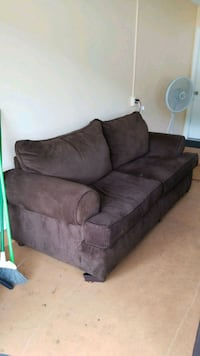 brown fabric 2-seat sofa Jacksonville, 32244