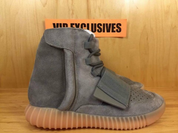 70a2dfdb036 Used Adidas Yeezy 750 Boost Kanye West Light Grey Gum G for sale in ...
