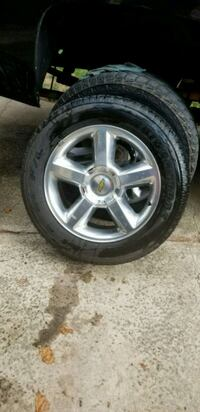 20 inch  Chevrolet  wheels  for sale or trade Charlotte