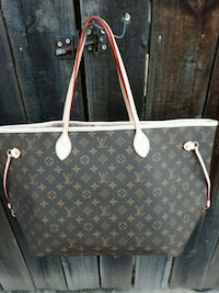 black and brown Louis Vuitton monogram tote bag Osseo, 55369