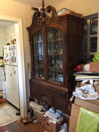 Colonial Revival hutch. 19 mi