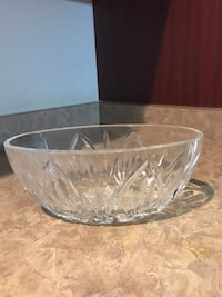 Waterford clear crystal glass bowl Aldie, 20105