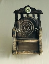 black and brown wooden table decor Toronto, M2N