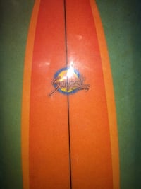 Orange sunset surfboard  Austin, 78745