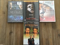 four assorted DVD movie cases Laval, H7R 4V2