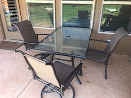 Porch dining set