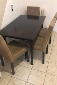 Dining table with 4 chair left  Toronto, M5M 3X6