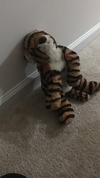 brown and black tiger plush toy Aldie, 20105