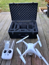 DJI Phantom 4 PRO Drone, Ready to Fly, with Tough Travel Case