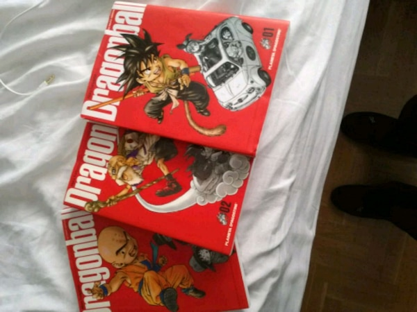 Libros dragon ball ultimate edition