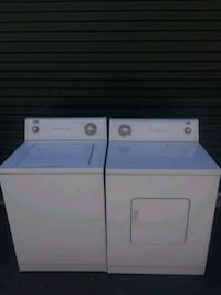 White Wirrpoole Estate washer and dryer