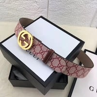 Leather Canvas Gucci belt Burnaby, V5A 3S4