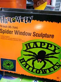 Halloween light up window sculptures Pawtucket, 02861