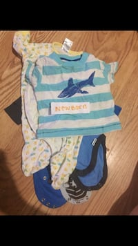 Baby boy clothes from newborn-12 months I have a bunch Wesley Chapel, 33544