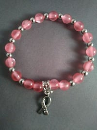 Pink hope beaded bracelet Nashua, 03060