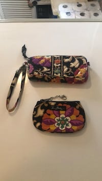 black, pink, and white floral wristlet Phoenixville, 19460