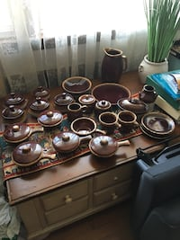 Vintage dishes 41 pieces not complete  Hillside, 07205