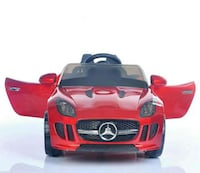 Cherry Red Ride on Benz for Babies aged 1-4.  TORONTO