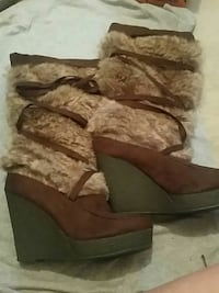 "Furry ""Degree"" Winter Boots  Dundalk, 21222"