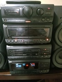 JVC Compact Component System MX-D7T plus 2 wharfedale 100w speakers.  Surrey, V3T 3B2