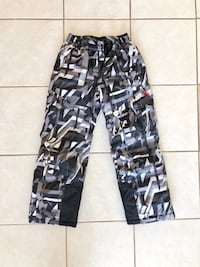 Black and gray camouflage pants Boyds, 20841