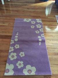 purple and white floral area rug North Haven, 06473