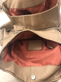 Coach Beige purse and wallet