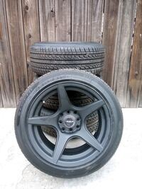 15 inch versus wheels and tires new 4LUG