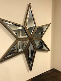 Metal star With glass (24x21) Courtice, L1E 2B5
