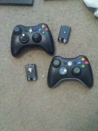 two black Xbox 360 controllers Nashville, 37222