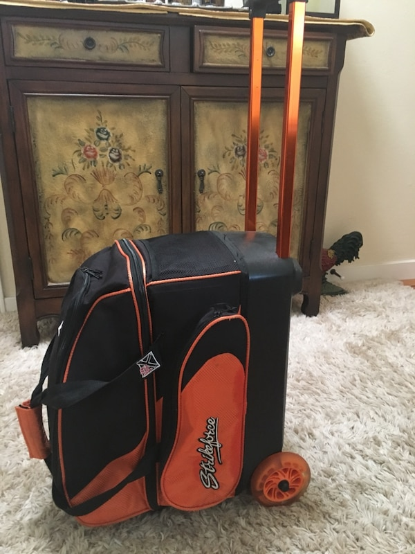 449cfd2bf82 Used KR Strikeforce Double Roller Bowling Bag for sale in San Bruno ...