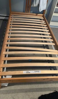 Twin bed frame and mattress Toronto, M9A 4B6