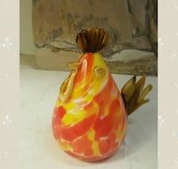 Glassblowing decorative rooster North Vancouver