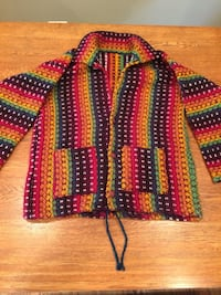 Sweater—size M-L, hand crafted from Ecuador. Chicago, 60630