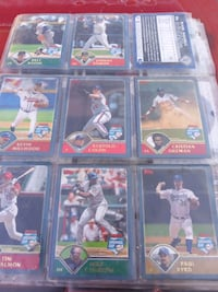 baseball player trading card collection Commerce, 90040