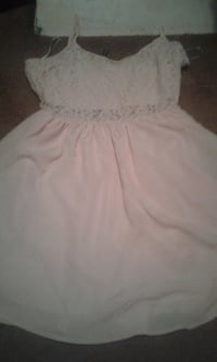 Nude colored seduction dress size medium  EDMONTON
