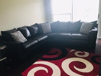 Leather Sectional Sofa with pillows included! Woodbridge, 22191