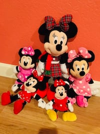 Minnie Mouse and Mickey Mouse plush toys Pasadena, 77506