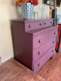 Antique chest of drawers refinished