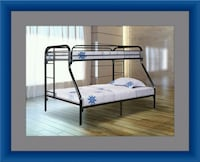 Full twin bunk bed frame Adelphi